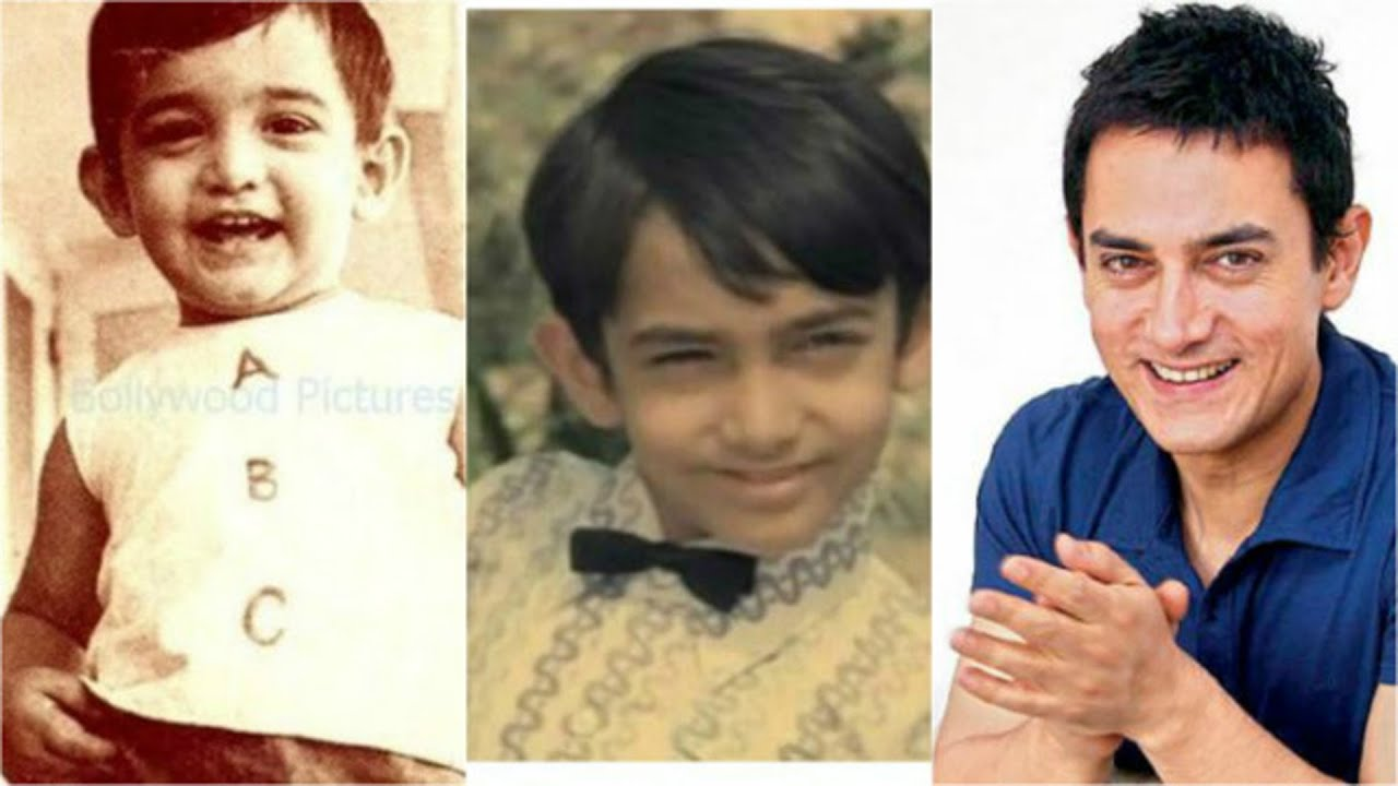 Aamir Khan Childhood pic