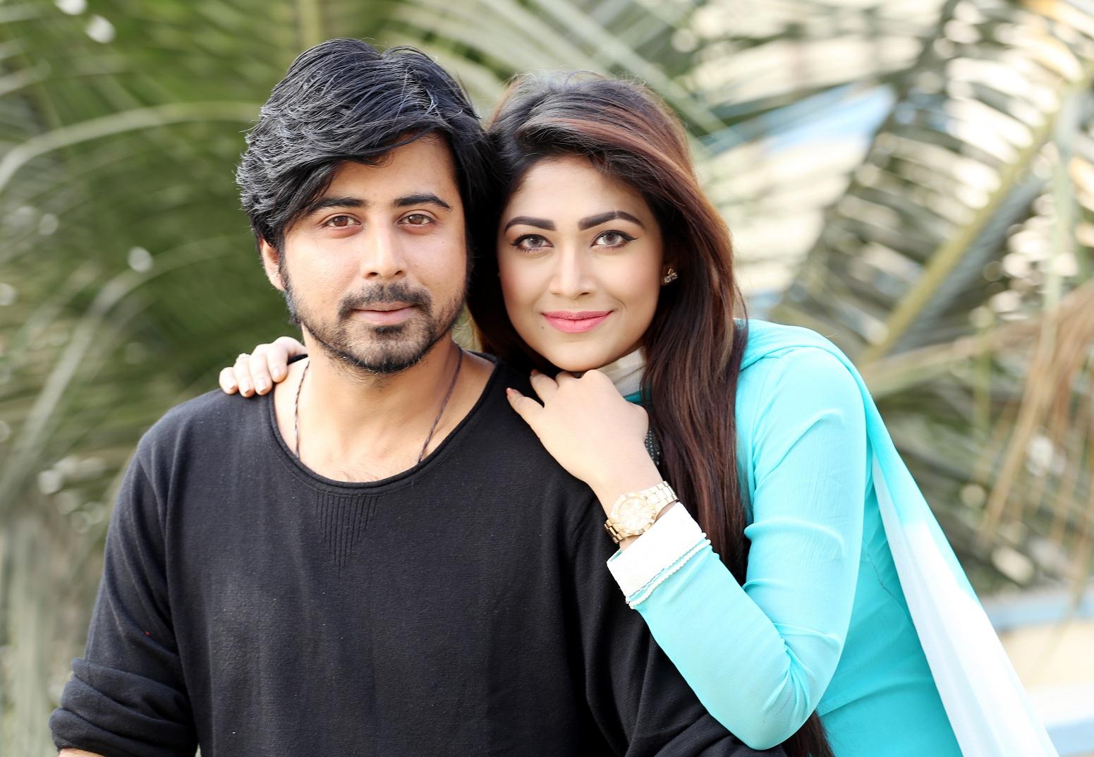 Afran Nisho with Peya Bipasha