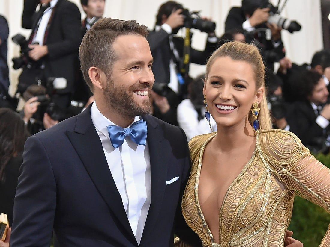 Blake Lively Husband Ryan Reynolds