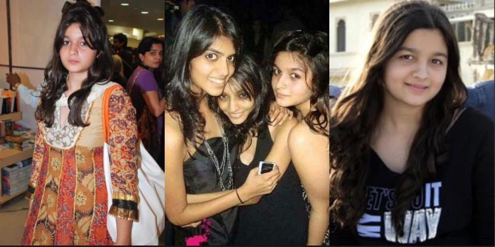 Earlier life of Alia Bhatt