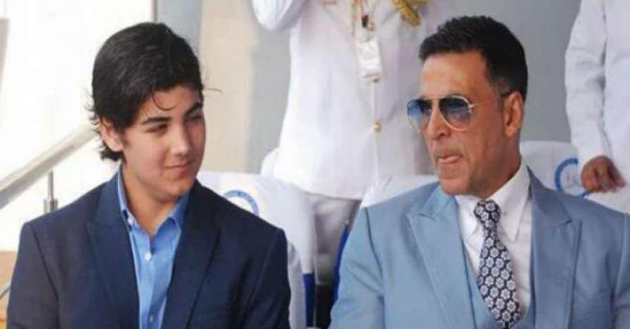 akshay kumar son Aarav Kumar
