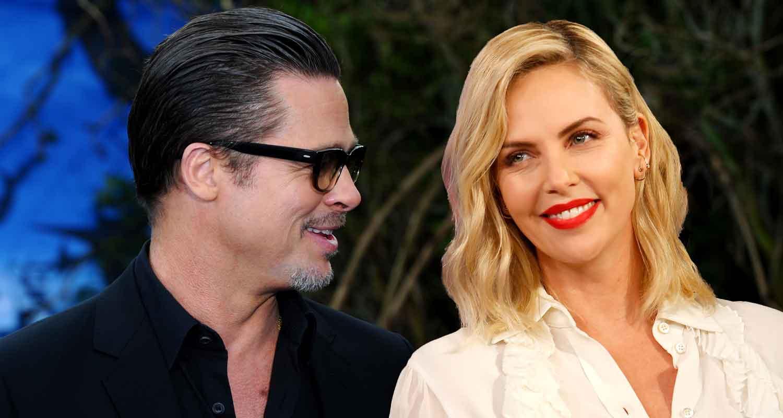 Brad Pitt wife Charlize Theron