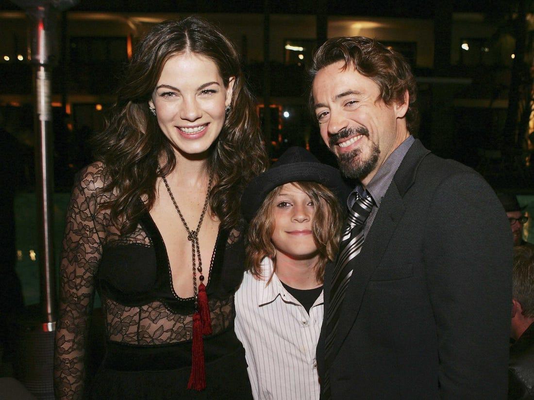 Robert Downey Jr. Family
