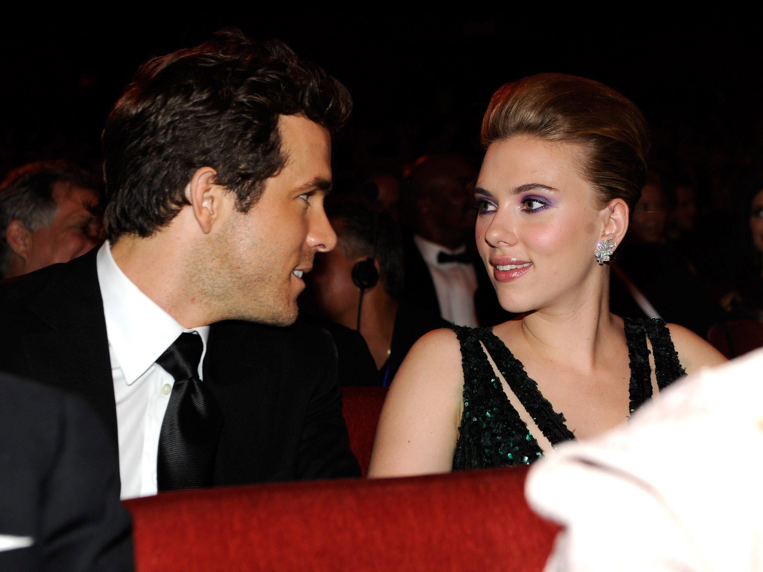 Ryan Reynolds Ex Wife Scarlett Johansson