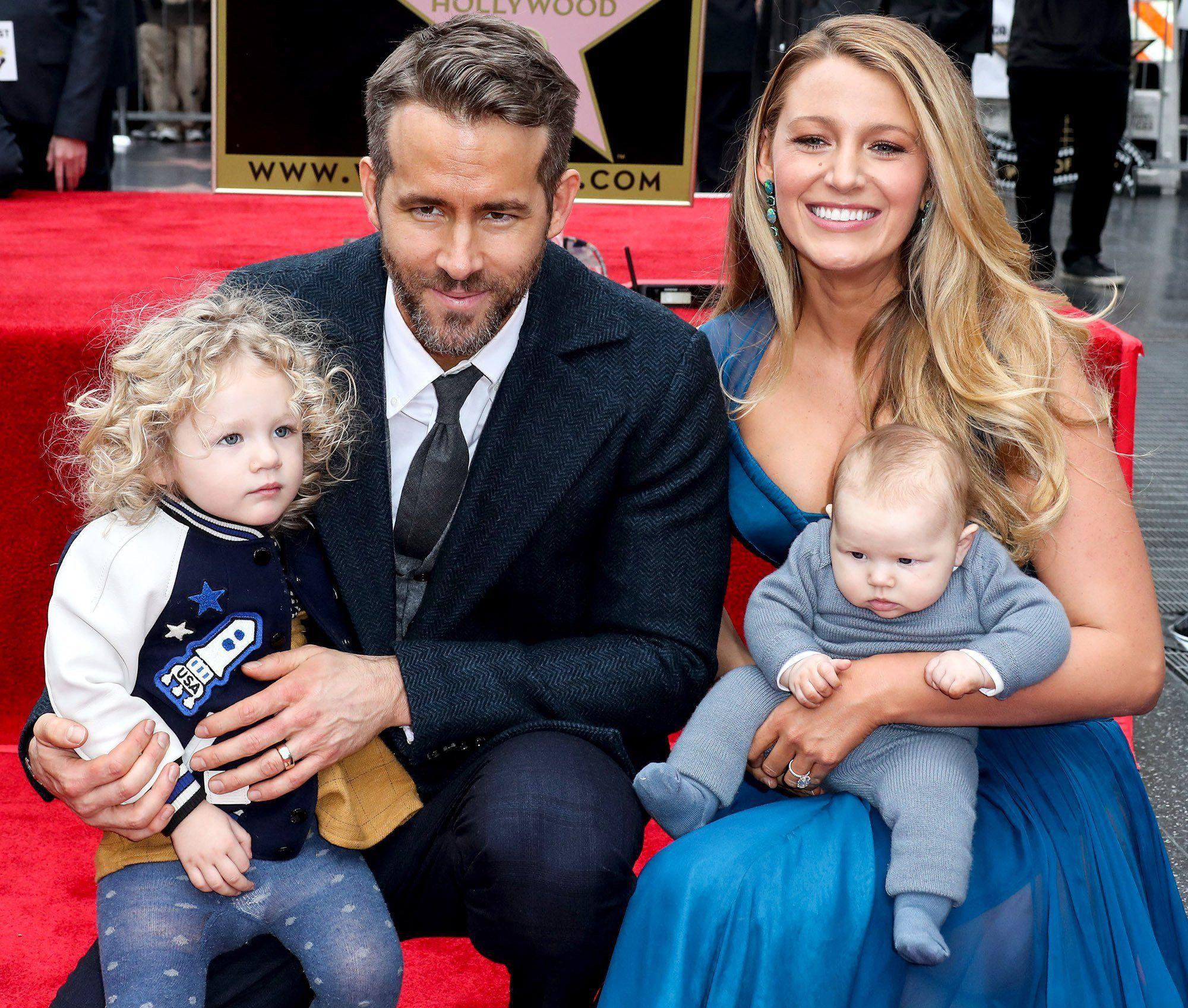 Ryan Reynolds Family
