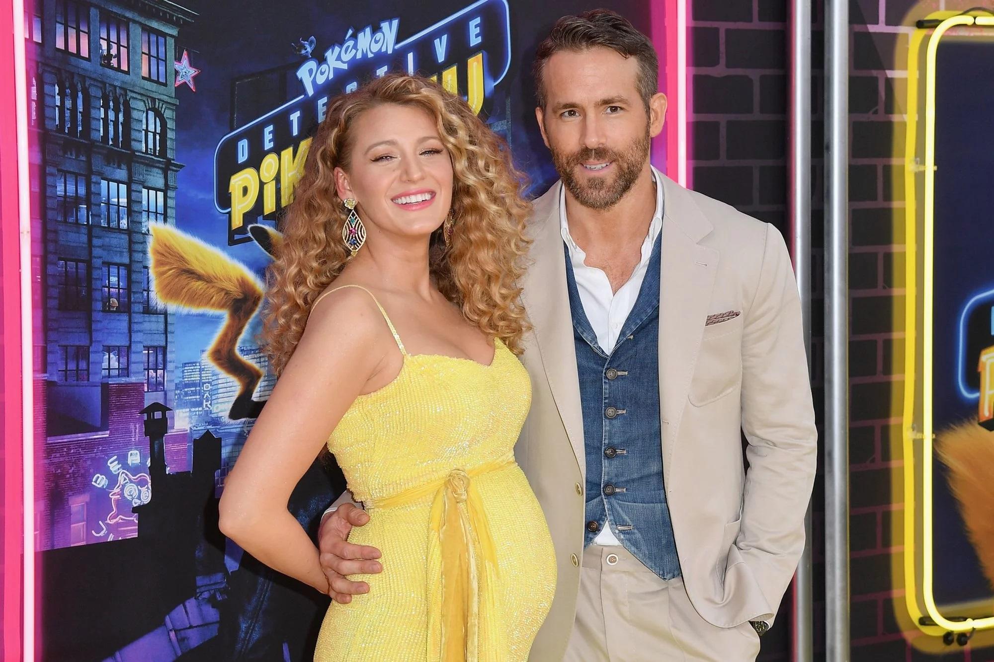 Ryan Reynolds Wife Blake Lively