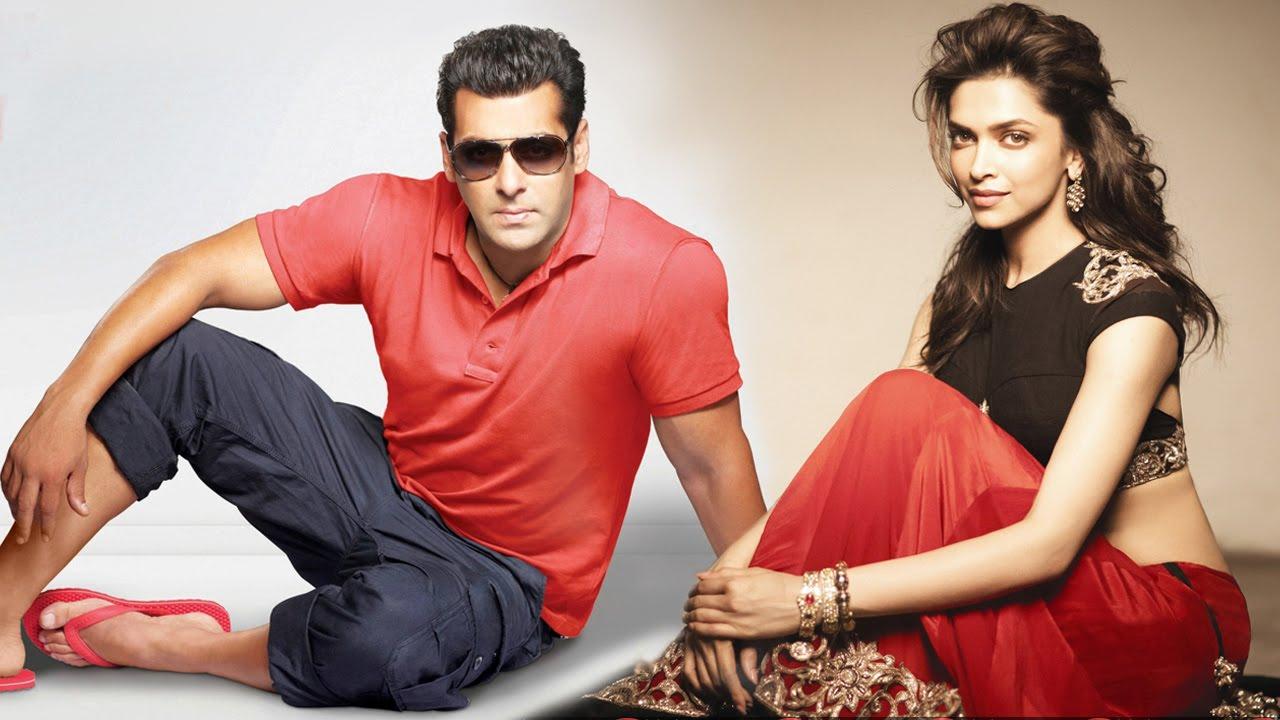 Salman Khan and Deepika Padukone