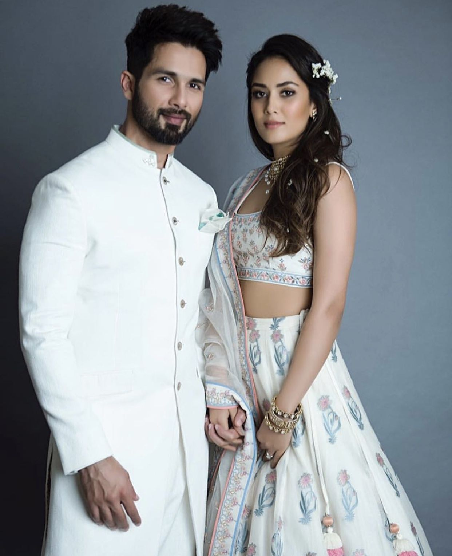 Shahid Kapoor and His Wife Mira Rajput